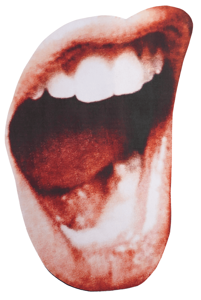picture of shouting mouth